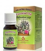 "Parfémy, Parfumerie, kosmetika Esenciální olej ""Šalvěj"" - Bulgarian Rose Dalmatian Sage Essential Oil"