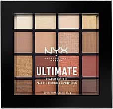 Parfémy, Parfumerie, kosmetika Paleta stínů - Nyx Professional Makeup Ultimate Shadow Palette