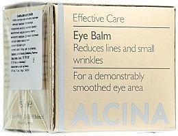 Parfémy, Parfumerie, kosmetika Oční balzám proti stárnutí - Alcina E Eye Balm