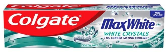 Zubní pasta bělící - Colgate Max White White Crystals