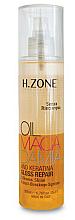 Parfémy, Parfumerie, kosmetika Olej pro lesk vlasů - H.Zone Macadamia-Gloss Repair