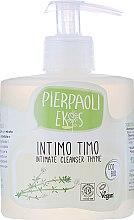 Parfémy, Parfumerie, kosmetika Antibakteriální mýdlo pro intimní hygienu s extraktem z organického tymiánu - Ekos Personal Care Thyme Intimate Cleanser (s dávkovačem)
