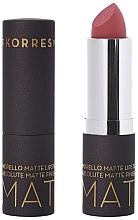 Parfémy, Parfumerie, kosmetika Matná rtěnka - Korres Morello Matte Lipstick