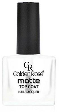 Matný vrchní lak na nehty - Golden Rose Matte Top Coat