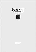 Parfémy, Parfumerie, kosmetika Korloff Paris Korloff In White - Sada (edt/88ml + sh/gel/150ml)