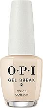 Parfémy, Parfumerie, kosmetika Zpevňující barevný krycí lak na nehty - O.P.I Gel Break Lacquer