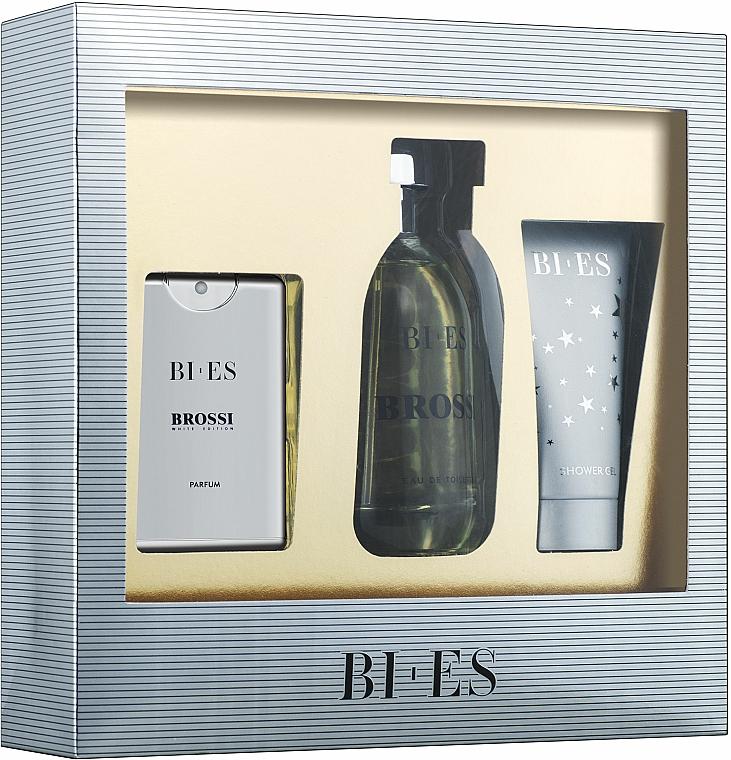 Bi-Es Brossi - Sada (edt/100ml + edt/15ml + sh/gel/50ml)
