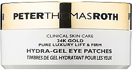 Parfémy, Parfumerie, kosmetika Hydrogelové náplasti pod oči - Peter Thomas Roth 24k Gold Pure Luxury Lift & Firm Hydra-Gel Eye Patches