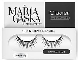 Parfémy, Parfumerie, kosmetika Umělé řasy - Clavier Quick Premium Lashes Daily Lady 813