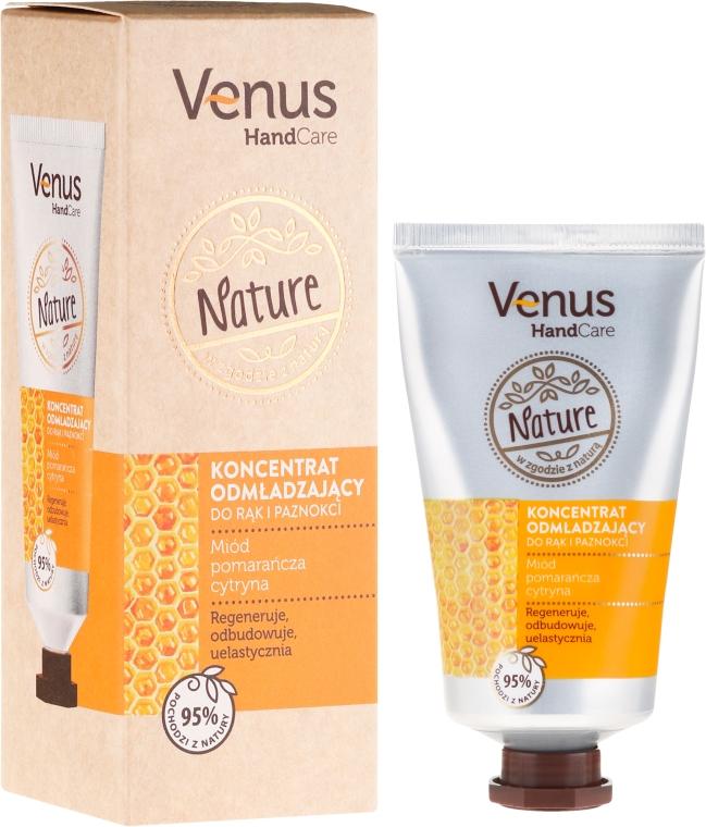 Omlazující koncentrát na ruce a nehty - Venus Nature