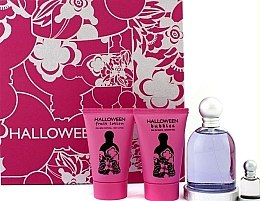 Parfémy, Parfumerie, kosmetika Jesus Del Pozo Halloween - Sada (edt/100ml + b/l/50ml + sh/g/50ml + mini/4.5ml)