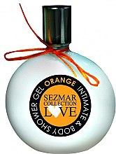 "Parfémy, Parfumerie, kosmetika Sprchový gel pro intimní hygienu ""Pomeranč"" - Sezmar Collection Love Orange Intimate & Body Shower Gel"