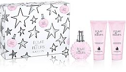 Parfémy, Parfumerie, kosmetika Lanvin Eclat de Fleurs Set - Sada (edp/100ml + b/sh/100ml + balm/100ml)