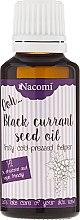 Parfémy, Parfumerie, kosmetika Olej z černého rybízu pro suchou a citlivou pleť - Nacomi