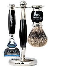 Parfémy, Parfumerie, kosmetika Sada - Taylor of Old Bond Street Fusion (razor/1szt + sh/brush/1szt + stand/1szt)