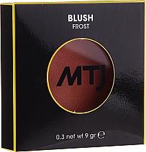 Parfémy, Parfumerie, kosmetika Tvářenka - MTJ Cosmetics Frost Blush