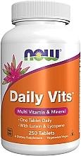 Parfémy, Parfumerie, kosmetika Každodenní komplex vitamínů, v tabletách - Now Foods Daily Vits