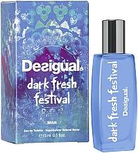 Parfémy, Parfumerie, kosmetika Desigual Dark Fresh Festival - Toaletní voda (mini)
