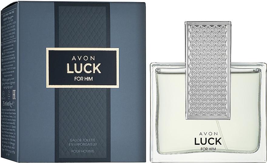 Avon Luck for Him - Toaletní voda — foto N2