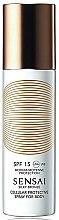 Parfémy, Parfumerie, kosmetika Opalovací sprej na tělo SPF15 - Kanebo Sensai Cellular Protective Spray For Body