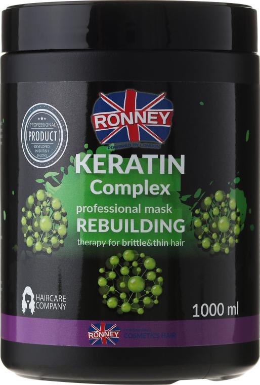 Maska na vlasy - Ronney Keratin Complex Rebuilding Therapy Mask