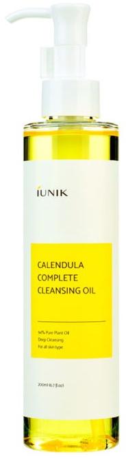 Zklidňující hydrofilní čisticí olej s měsíčkem - IUNIK Calendula Complete Cleansing Oil