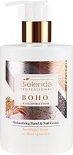 Parfémy, Parfumerie, kosmetika Hydratační krém na ruce a nehty - Bielenda Professional Nailspiration Boho Moisturising Hand & Nail Cream