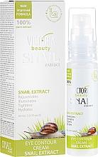 Parfémy, Parfumerie, kosmetika Oční krém s výtažkem ze šneků - Victoria Beauty Snail Eye Contour Cream