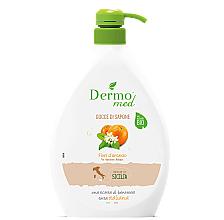 Parfémy, Parfumerie, kosmetika Krémové mýdlo Pomerančový květ - Dermomed Orange Blossom Cream Soap