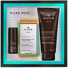 Parfémy, Parfumerie, kosmetika Sada - Nuxe Men Nuxellence (eye/cr/15ml + f/fluid/50ml + sh/gel/200ml)