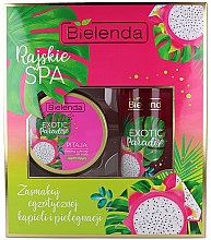 Parfémy, Parfumerie, kosmetika Sada - Bielenda Exotic Paradise Pitaja (scrub/350g + butter/400ml)