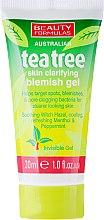 "Parfémy, Parfumerie, kosmetika Protizánětlivý gel na obličej ""Čajový strom"" - Beauty Formulas Tea Tree Skin Clarifying Blemish Gel"