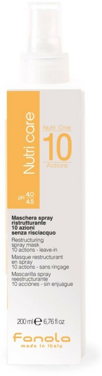 Maska ve spreji na vlasy - Fanola Nutri Care Restructuring Spray Mask