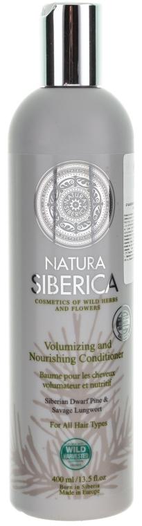 """Balzám pro všechny typy vlasů """"Objem a péče"""" - Natura Siberica — foto N1"""