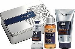 Parfémy, Parfumerie, kosmetika Sada - L'Occitane Cade Men Set (fluid/20ml + sh/ge/75g + f/cleanser/150ml)