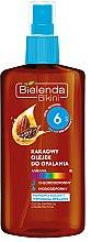 Parfémy, Parfumerie, kosmetika Opalovací olej s kakao SPF6 - Bielenda Bikini Cocoa Suntan Oil Low Protection