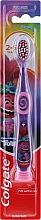Parfémy, Parfumerie, kosmetika Dětský zubní kartáč, 2-6 let fialovo-růžová - Colgate Smiles Kids Extra Soft