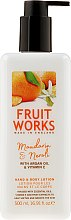 Parfémy, Parfumerie, kosmetika Lotion na rece a tělo Mandarin & Neroli - Grace Cole Fruit Works Hand & Body Lotion Mandarin & Neroli