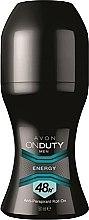 Parfémy, Parfumerie, kosmetika Deodorant-antiperspirant - Avon On Duty Men Energy Antiperspirant Roll-On