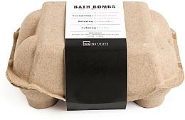 Parfémy, Parfumerie, kosmetika Sada bombiček do koupele - IDC Institute Pure Energy Bath Bombs Lavender & Passion Fruit & Lotus (6x70g)