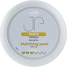 Parfémy, Parfumerie, kosmetika Matující stylingová pasta s bílou hlínou - Joanna Professiona Mattifying Paste