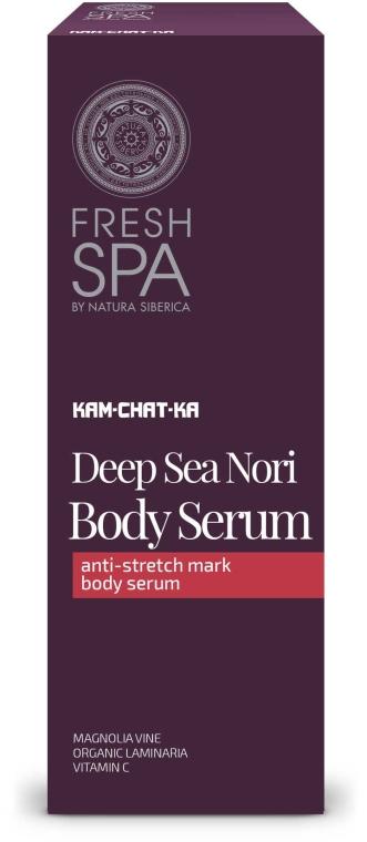 Sérum proti striím - Natura Siberica Fresh Spa Kam-Chat-Ka Deep Sea Nori Body Serum — foto N1