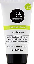 Parfémy, Parfumerie, kosmetika Krém na ruce - Melli Care Patchouli&Lemon Hand Cream