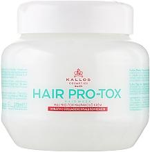 Parfémy, Parfumerie, kosmetika Vlasová maska s keratinem, kolagenem a kyselinou hyaluronovou - Kallos Cosmetics Pro-Tox Hair Mask