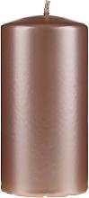 Parfémy, Parfumerie, kosmetika Dekorativní perleťová svíčka, 14 cm, růžovo-zlatá - Artman Opal Candle