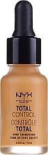 Parfémy, Parfumerie, kosmetika Odolný tónový základ - NYX Professional Makeup Total Control Drop Foundation