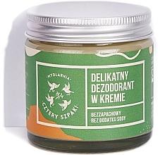 Parfémy, Parfumerie, kosmetika Jemný deodorant-krém - Cztery Szpaki