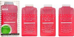 "Parfémy, Parfumerie, kosmetika Sada na pedikúru ""Růžový grapefruit"" - Voesh Pedi In A Box 3 In 1 Deluxe Pedicure Vitamin Recharge Pink Grapefruit"