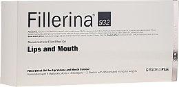 Parfémy, Parfumerie, kosmetika Gel pro zvýšení objemu rtů a zlepšení kontury, úroveň 4 - Fillerina Lips And Mouth Grade 4 Plus