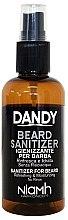 Parfémy, Parfumerie, kosmetika Dezinfekční sprej na vousy a knír - Niamh Hairconcept Dandy Beard Sanitizer Refreshing & Moisturizing